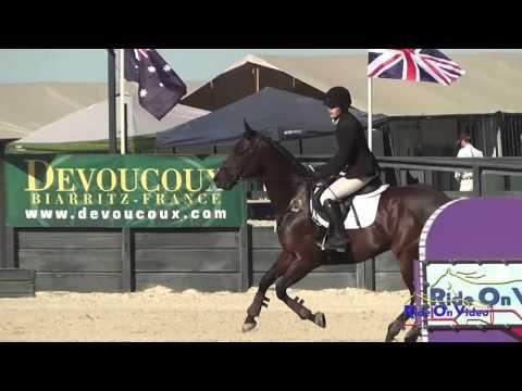 023S Florence Miller On Tuscan Sun CIC2* Show Jumping Woodside October 2014