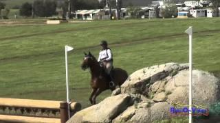 190XC Erin Kellerhouse on Rondelet CH Open Novice Cross Country Copper Meadows March 2015