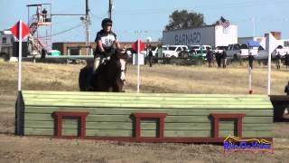 086XC Camille Powell on Patrick McLiam Open Training Cross Country FCHP April 2015