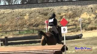 093XC Felicia Paredes on Seamus YR Novice Cross Country FCHP April 2015