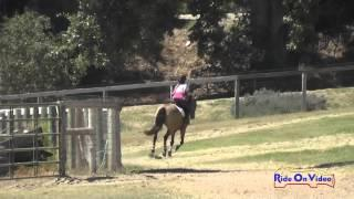 154XC Ella Garcia On Rosewood August JR Beginner Novice Cross Country Shepherd Ranch August 2015